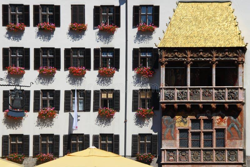 Innsbruck Golden Roof royalty free stock photo