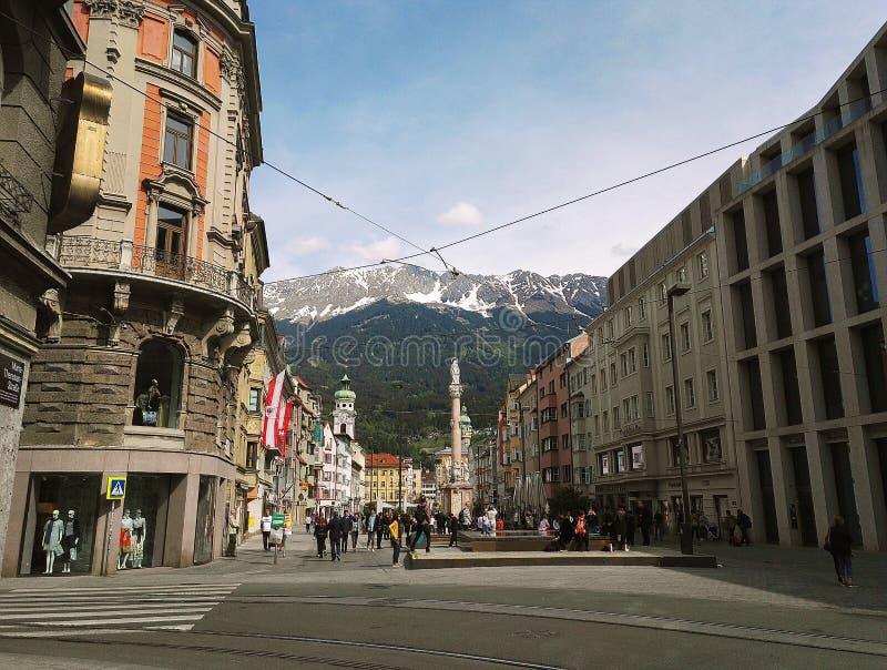 Innsbruck stock photography