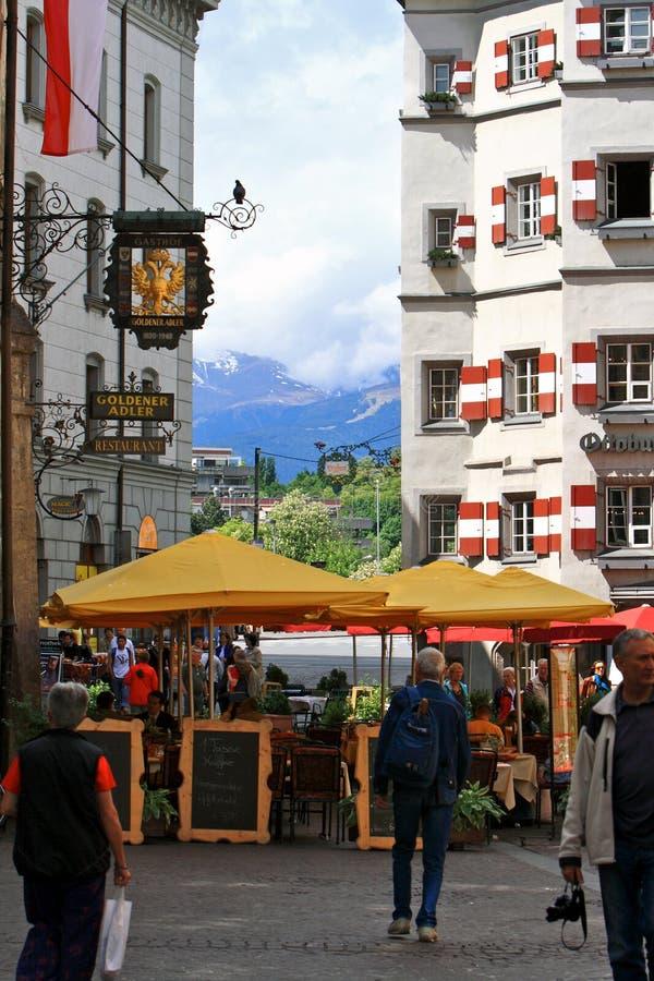 Innsbruck Street.Austria.