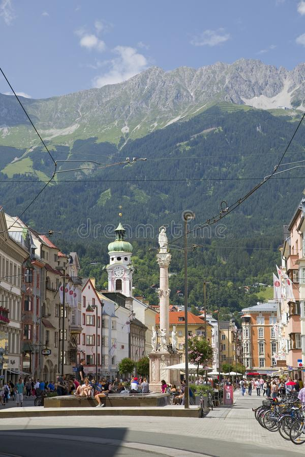 Innsbruck, Tirol, Oostenrijk royalty-vrije stock afbeeldingen