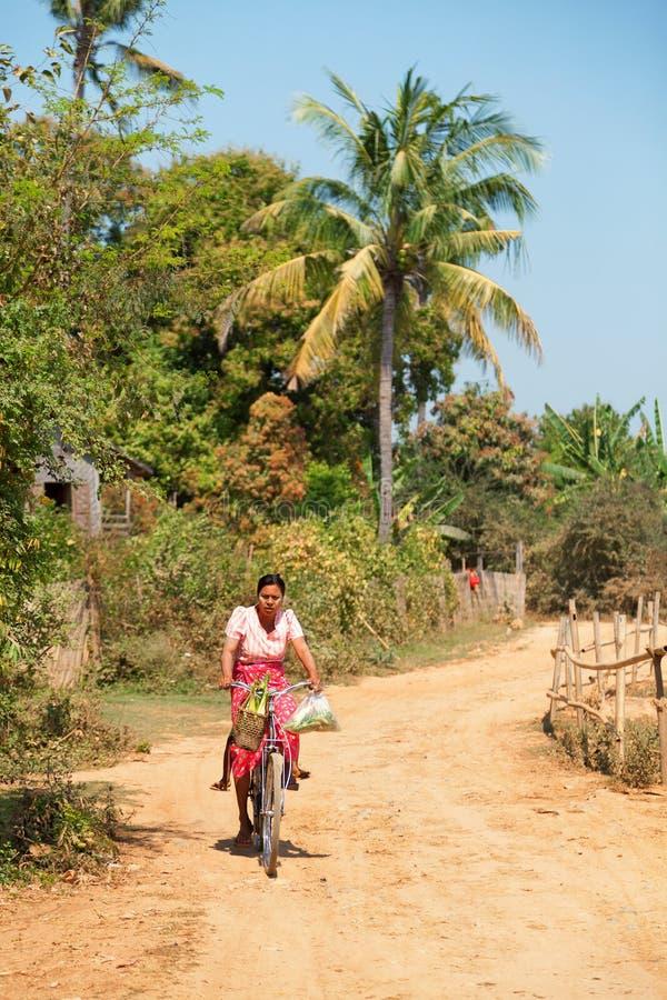 Innwa,缅甸 库存照片