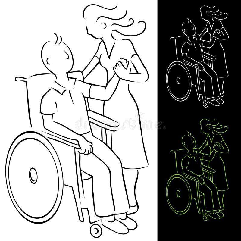 inny pomaganie ilustracji