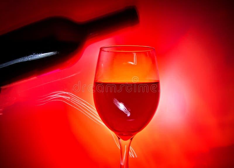 Inny szk?o wino fotografia royalty free