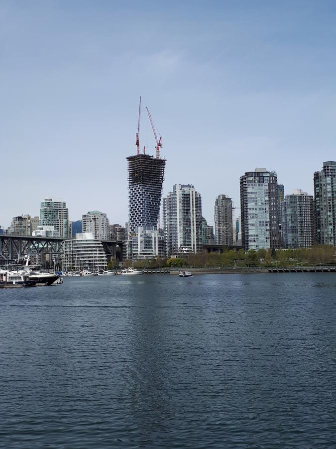 Inny Vancouver skyrise obraz stock
