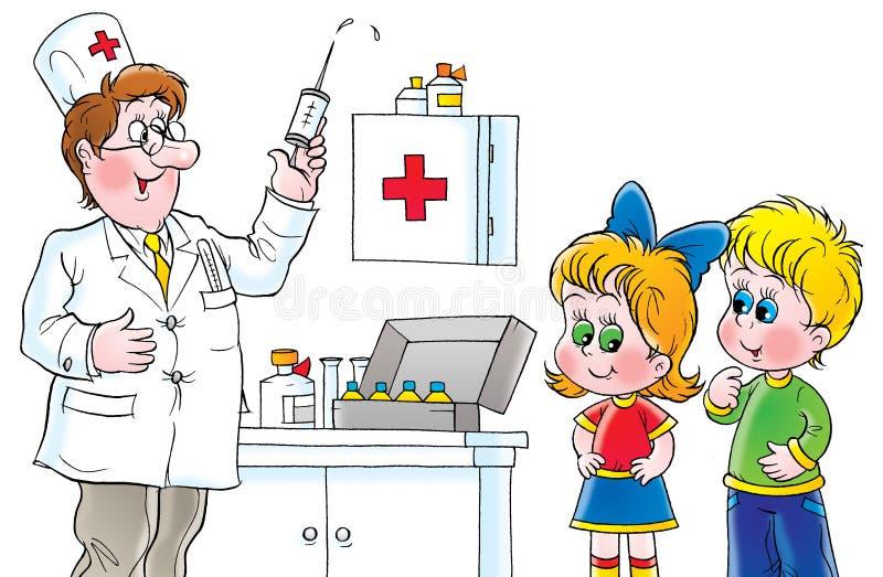 Inoculation ilustração stock