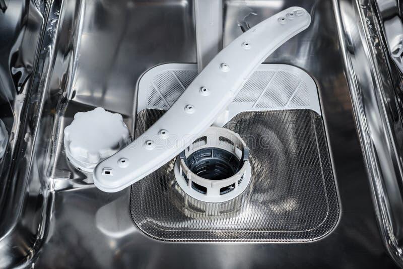 Inom av diskaren nedersta vagn royaltyfri foto