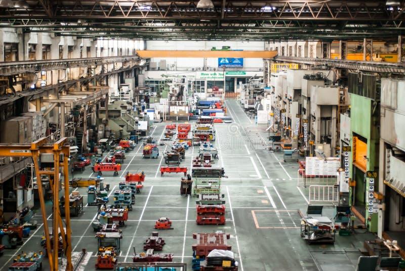 Inom av fabrik arkivbild