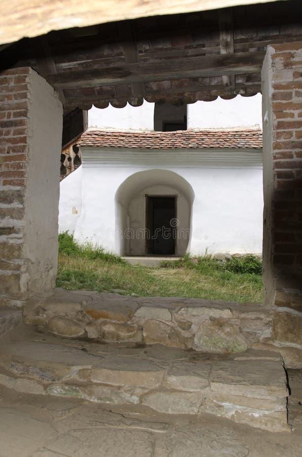 Inom Viscrien stärkt kyrka arkivbilder