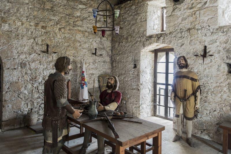 Inomhus museet i Kyrenia arkivbild