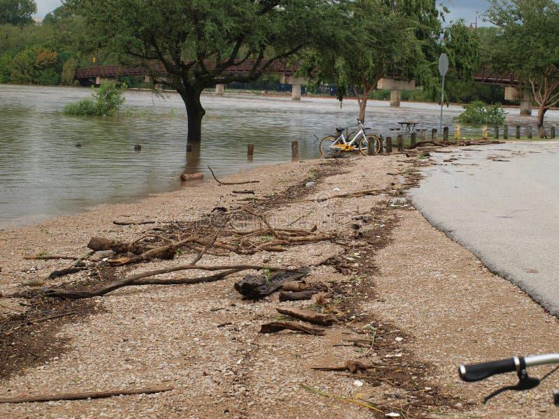 Inondant au-dessous du scout Hill dans Marina Area, photos stock