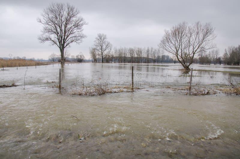 Inondation image libre de droits