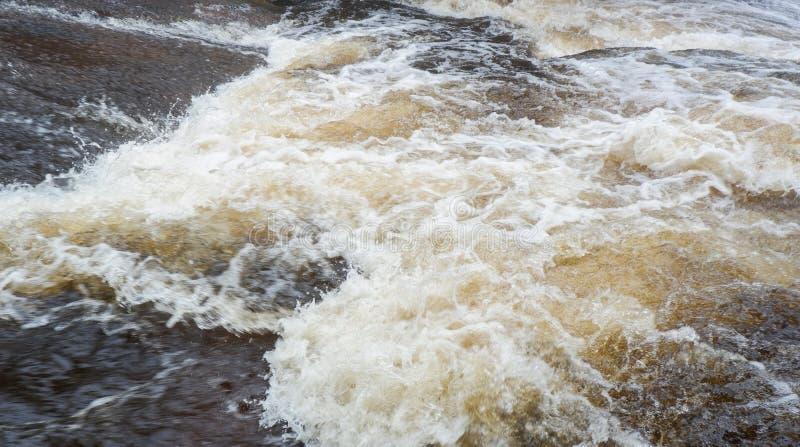 Inondation de l'eau photographie stock libre de droits