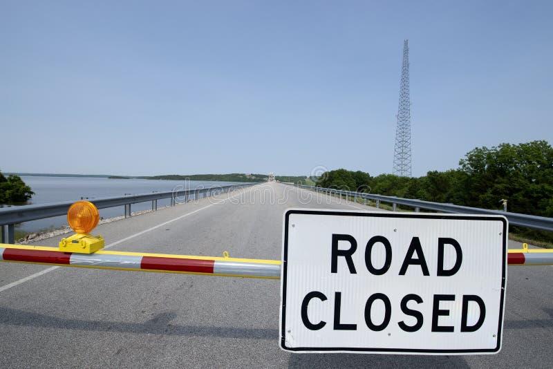 Inondazione del lago Truman fotografia stock libera da diritti