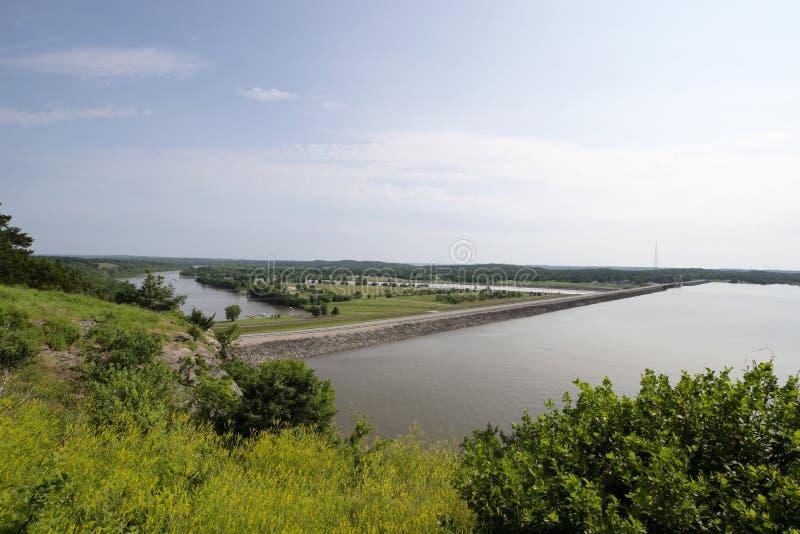 Inondazione del lago Truman fotografie stock libere da diritti