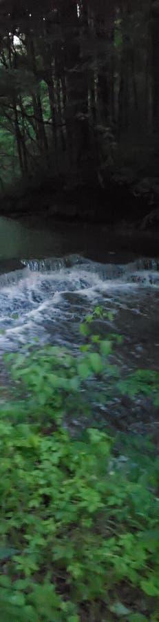 Inondazione dell'insenatura fotografie stock