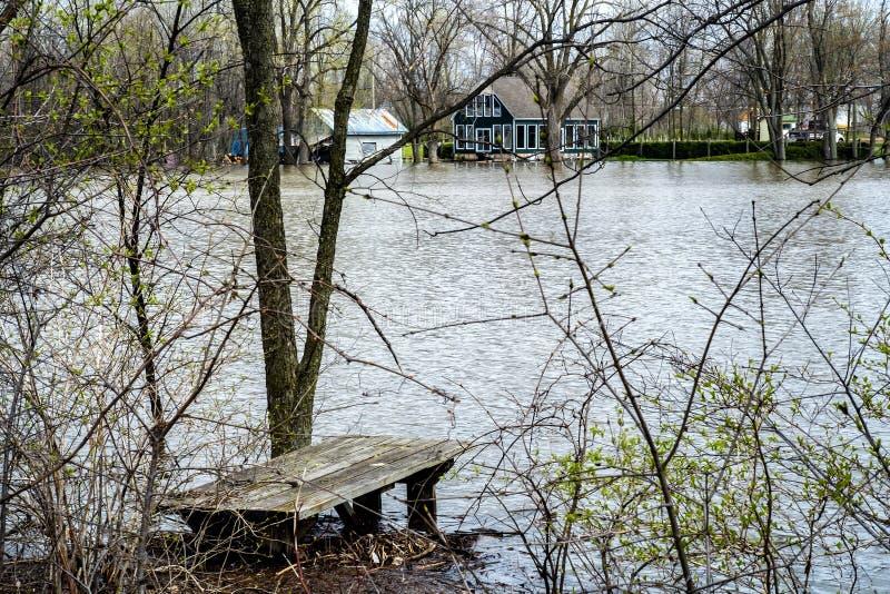 Inondazione della Camera fotografie stock libere da diritti