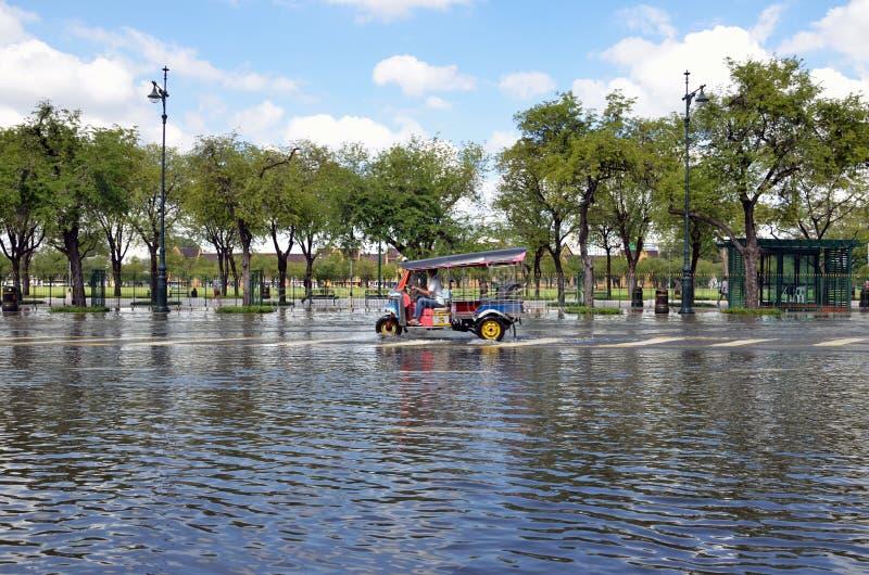 Inondazione di Bangkok immagini stock
