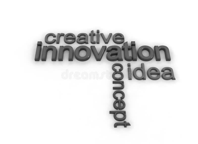 Inovação ilustração stock