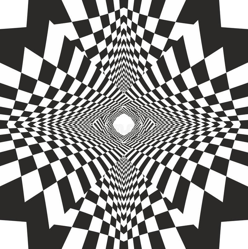 Inovação preto e branco ilustração do vetor