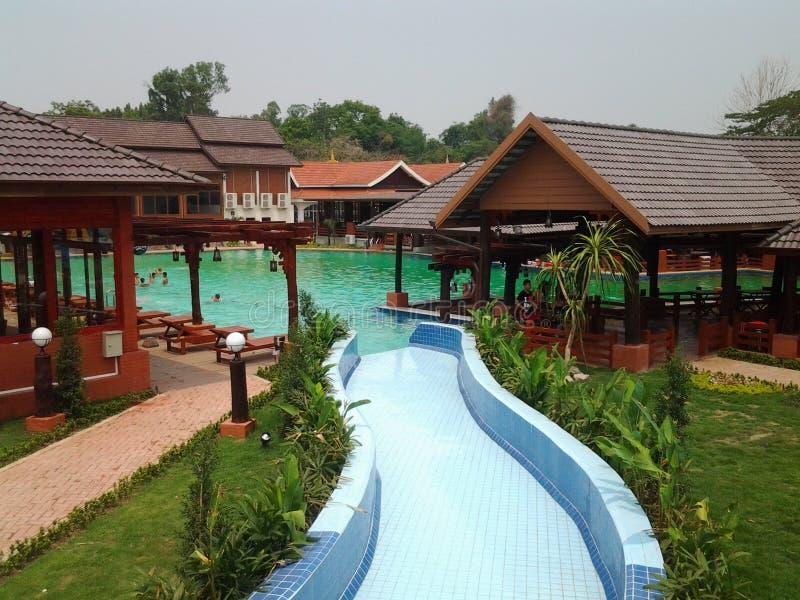Inpaeng-Swimmingpool stockfotos