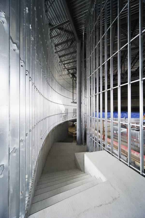 Inquadramento della vite prigioniera del metallo fotografia stock