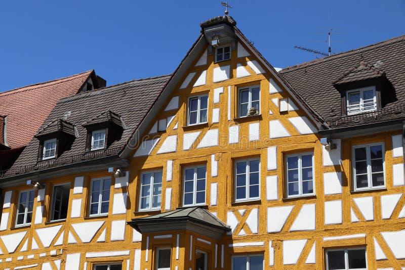 Inquadratura di legname della Germania fotografie stock libere da diritti
