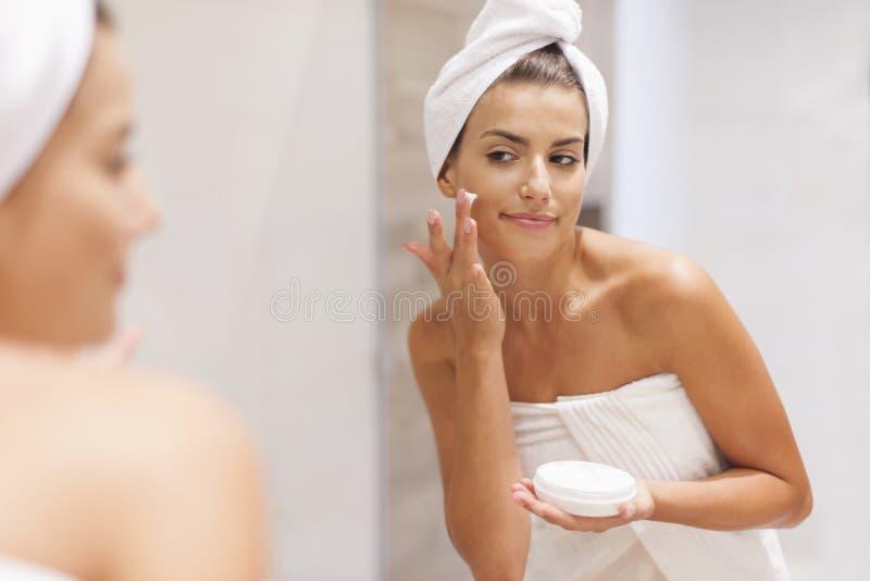 Inquietação da pele foto de stock