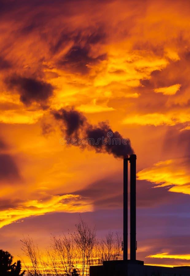 Inquinamento fotografie stock