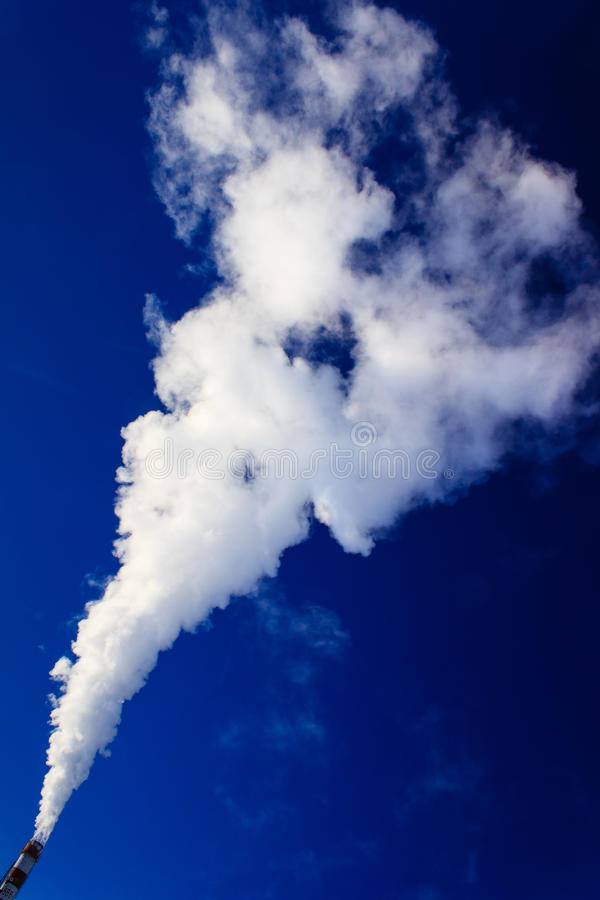 Inquinamento atmosferico fotografie stock