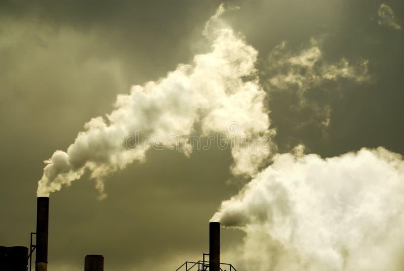 Inquinamento atmosferico immagini stock libere da diritti
