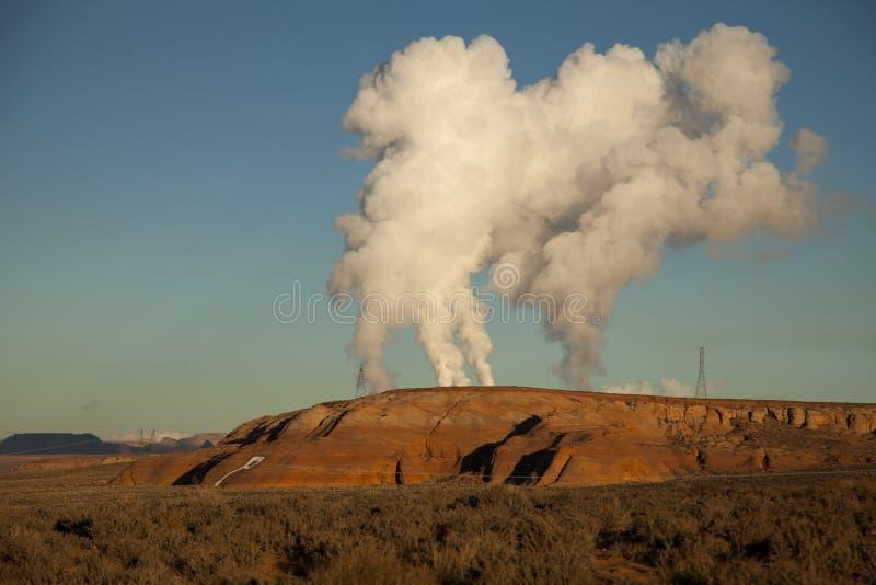 Inquinamento dell'Arizona fotografia stock