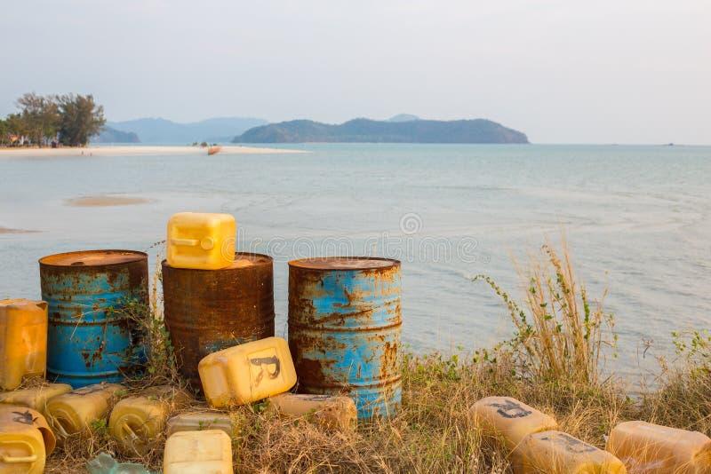 Inquinamento nel paradiso immagine stock libera da diritti