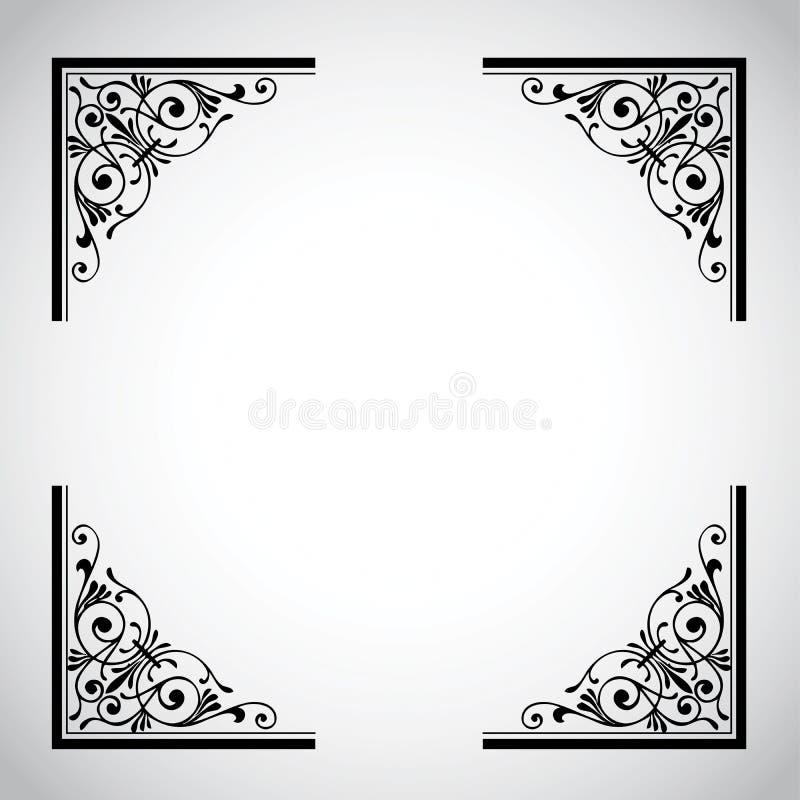 Inramnin Dekorativ Serietappning Royaltyfria Bilder