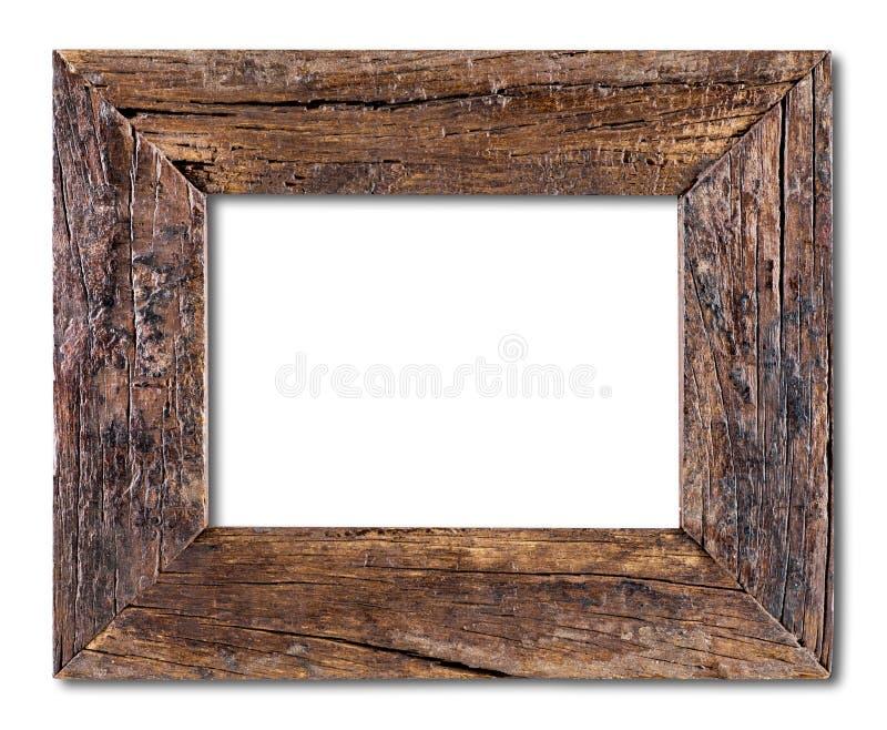 inramnin lantligt trä royaltyfri foto