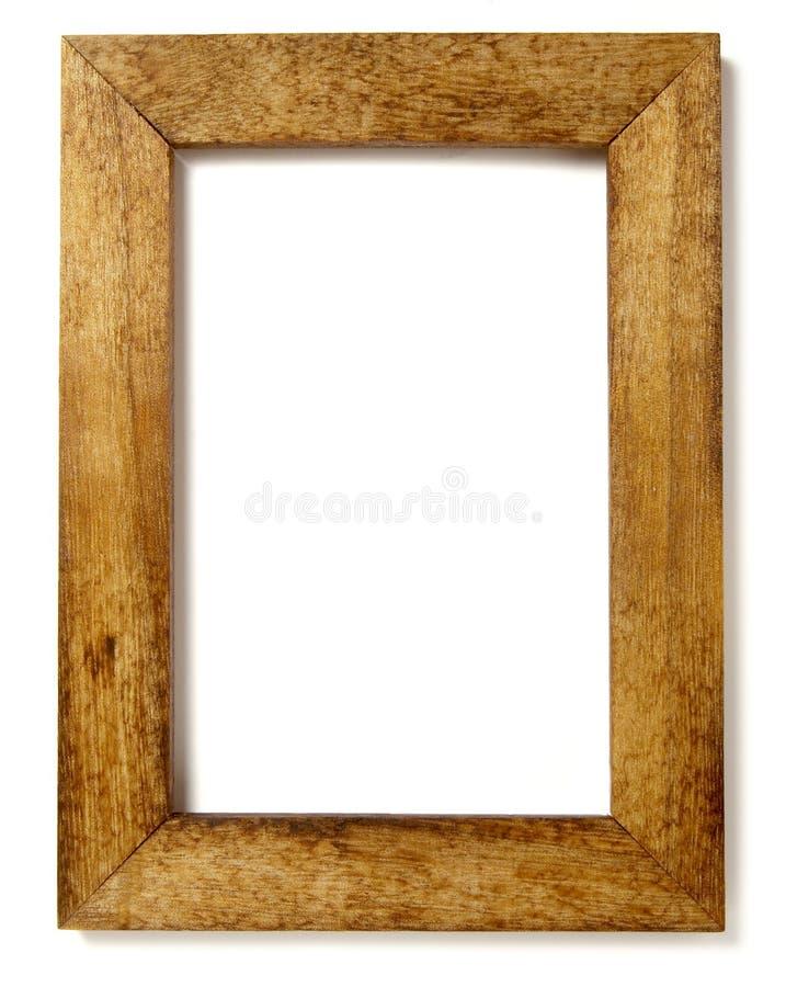 inramnin trä royaltyfri fotografi