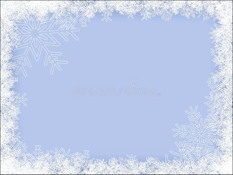 inramnin vintern royaltyfria foton