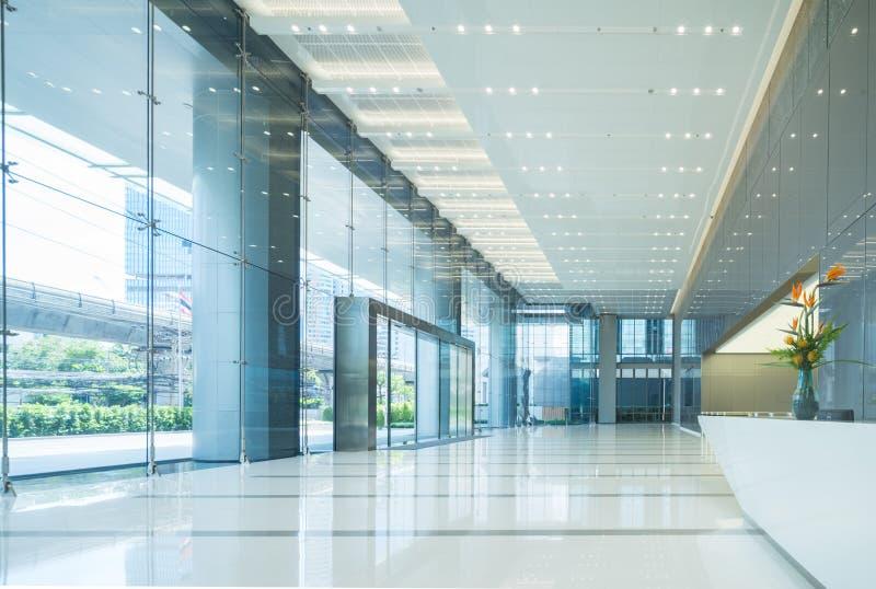 Inre av kontors lobby arkivfoton