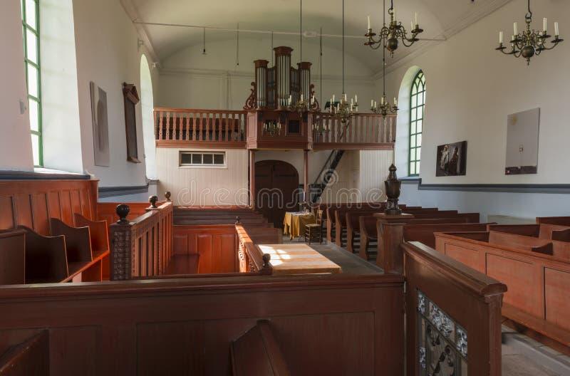Inre av kyrkliga Feerwerd fotografering för bildbyråer
