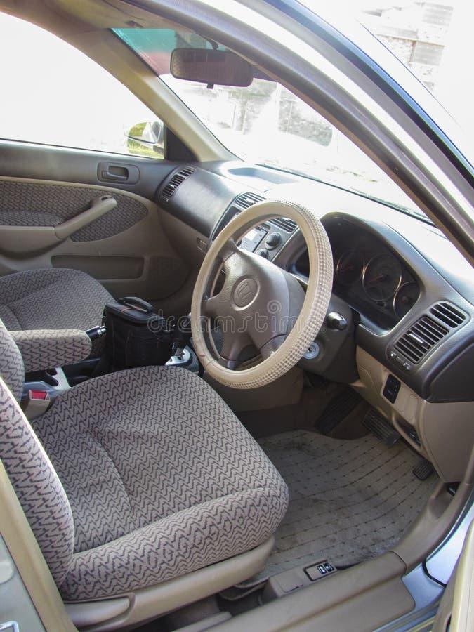 Inre bild för bil i Pakistan royaltyfri foto