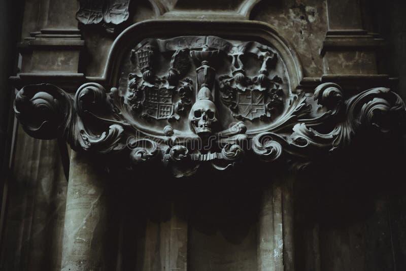 Inre detaljer av Sts Stephen domkyrka arkivfoton