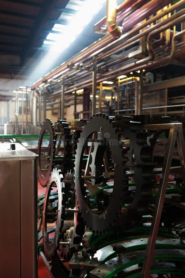 Inre fabrik royaltyfria bilder