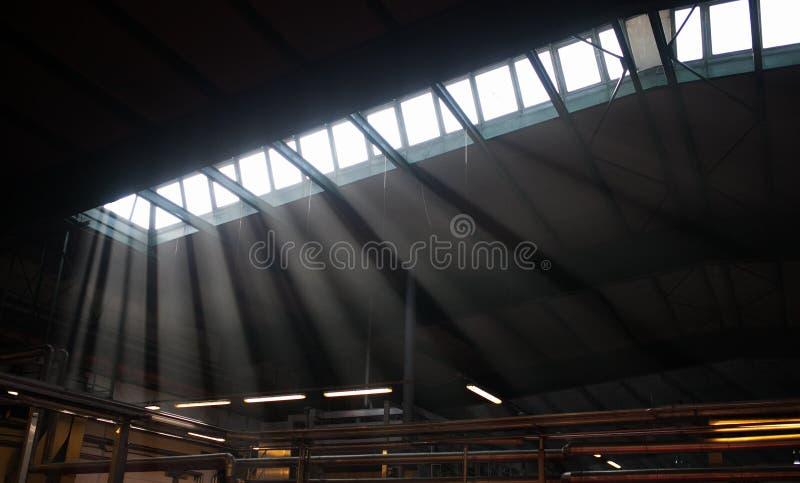 Inre fabrik fotografering för bildbyråer