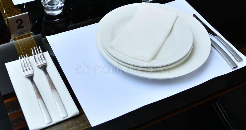Inre indisk restaurang arkivfoto