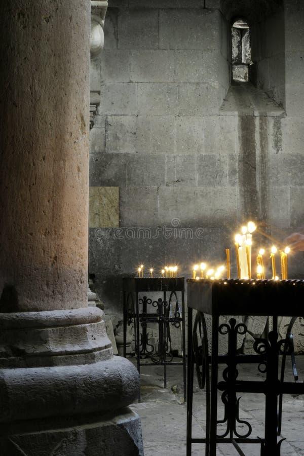 inre kloster royaltyfria bilder