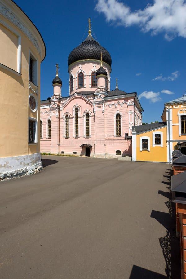 Inre kloster royaltyfria foton