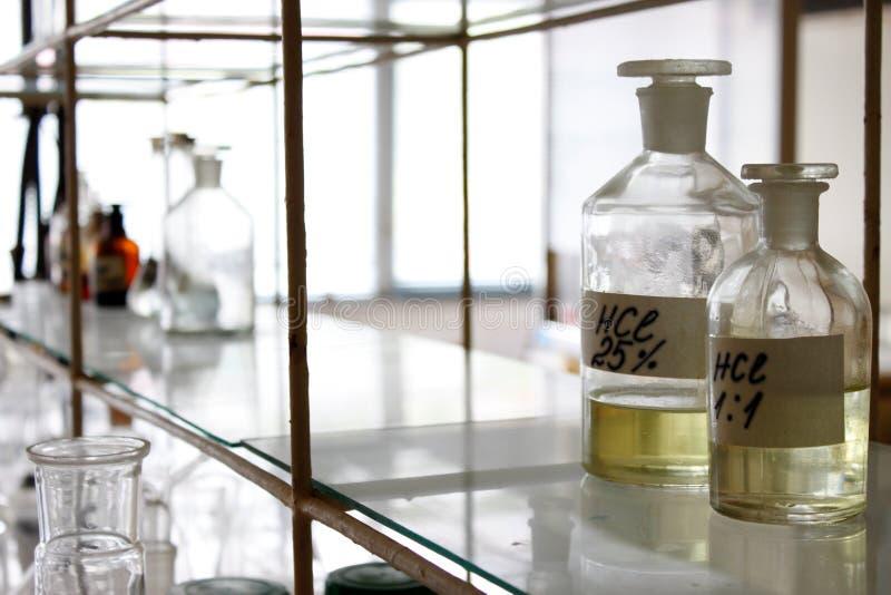 inre laboratorium royaltyfri bild