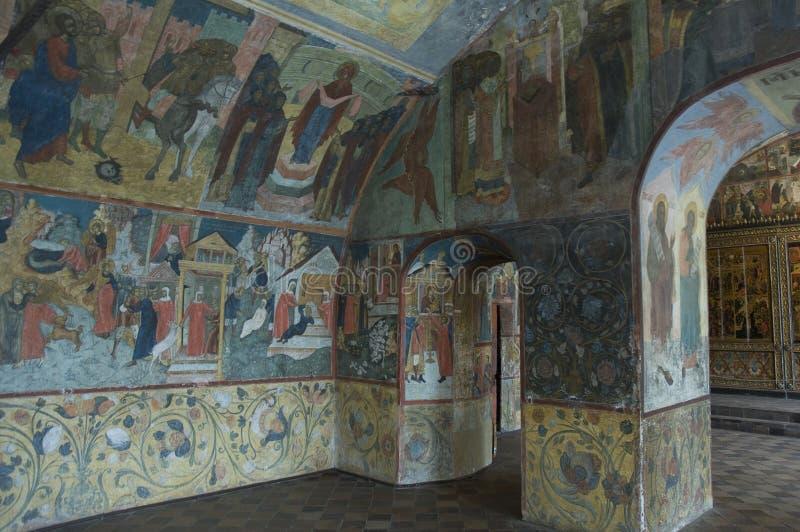 inre målningsprofet för kyrklig ilya fotografering för bildbyråer