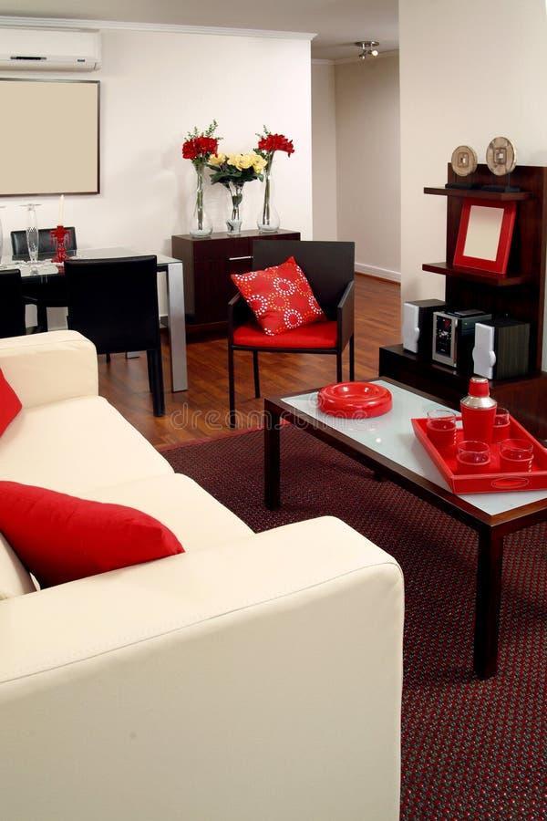 inre modernt för lägenhet royaltyfri foto
