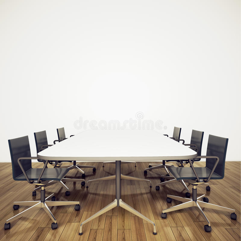 inre modernt kontor royaltyfria foton