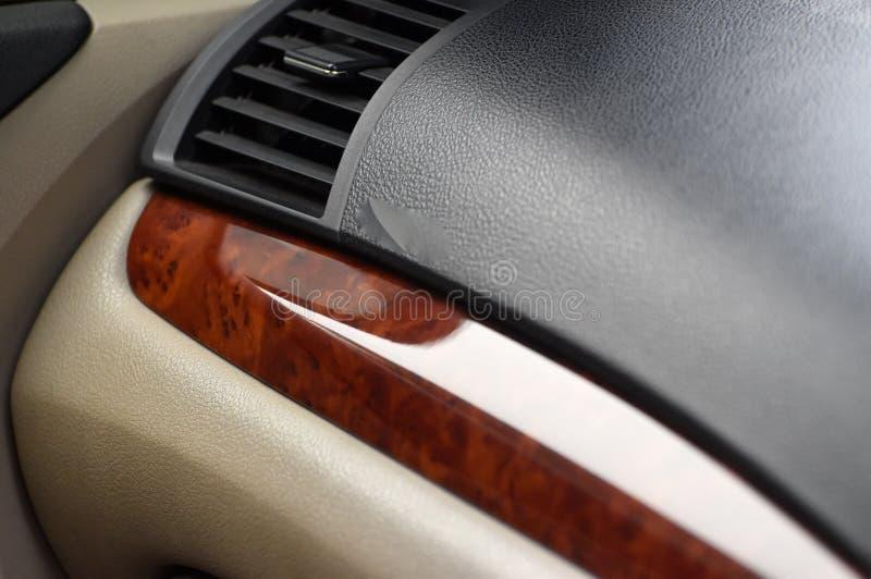 Inre objekt för bilinstrumentbräda - materielfotografi royaltyfri foto